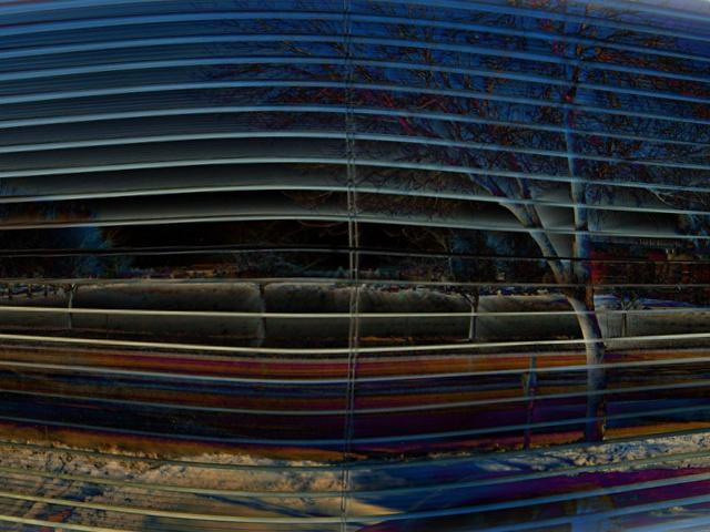 thru the blinds