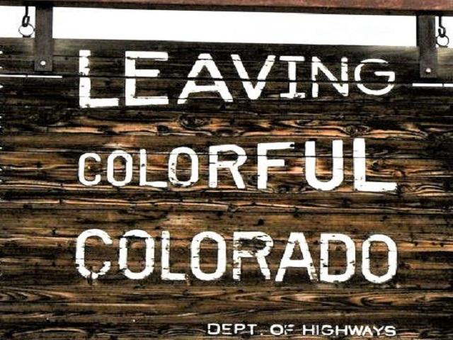 leaving colorado