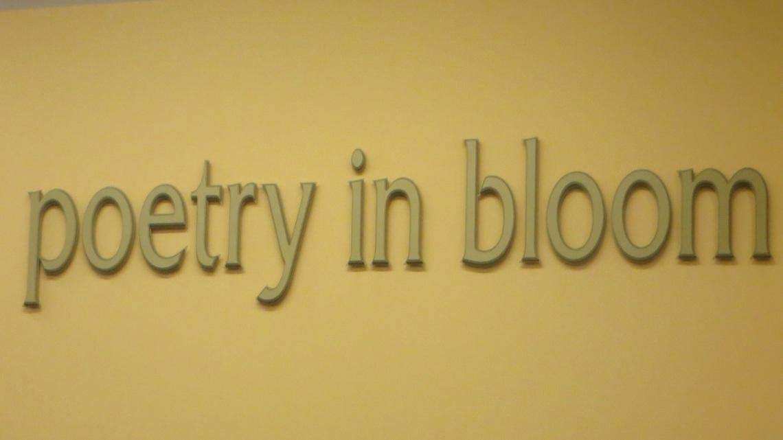 poetry in bloom