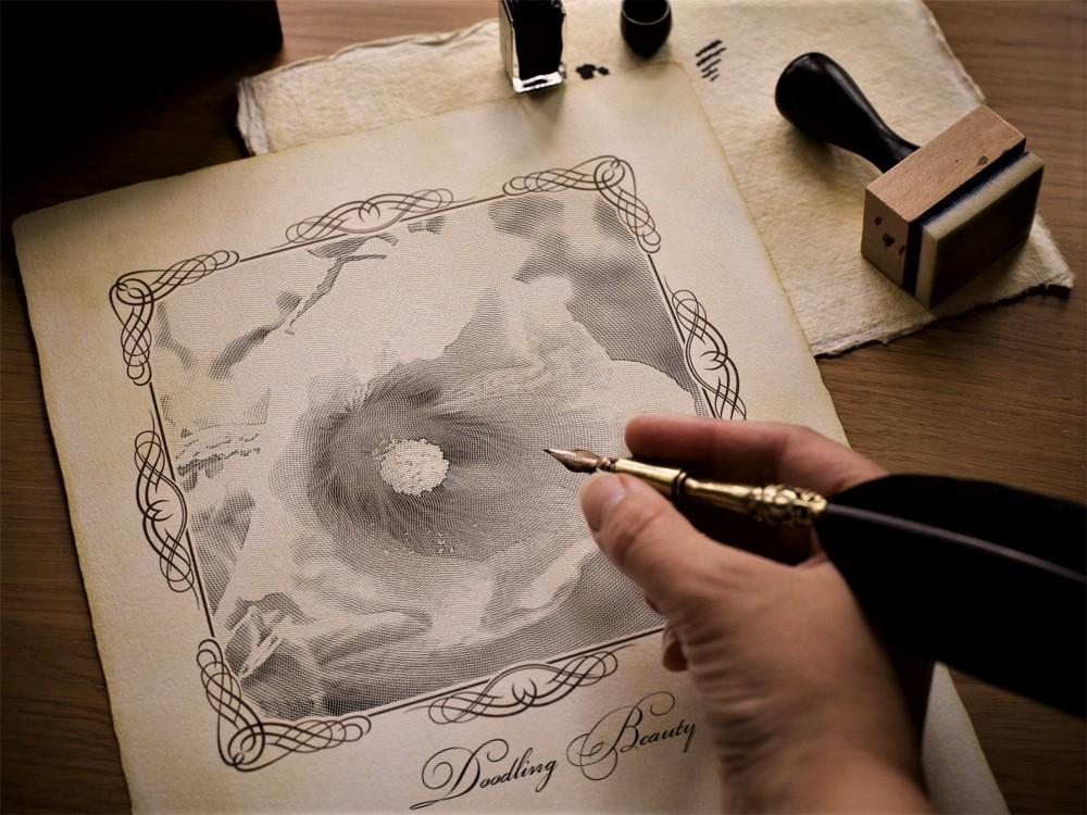 Doodling Beauty