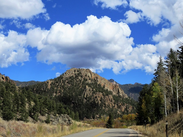 like a mountain to the sky